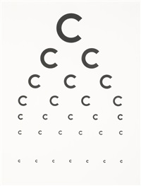 eye exam ii by tauba auerbach