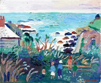 the outing, cape cornwall by fred yates