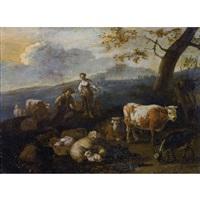 landschaft mit hirten und vieh by anonymous-dutch (17)