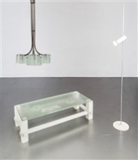 lampada da terra mod. 1055/sp by gino sarfatti