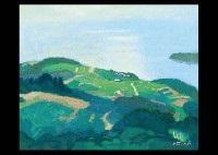 hill in ushimado by hitoshi yamaba