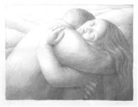 embrace by george tooker