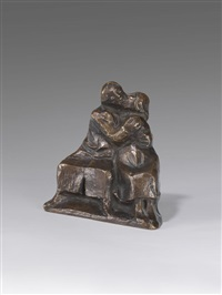 kussgruppe i by ernst barlach