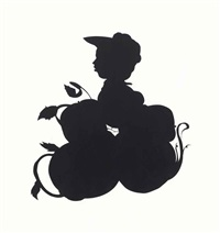 untitled (tomato patch girl) by kara walker