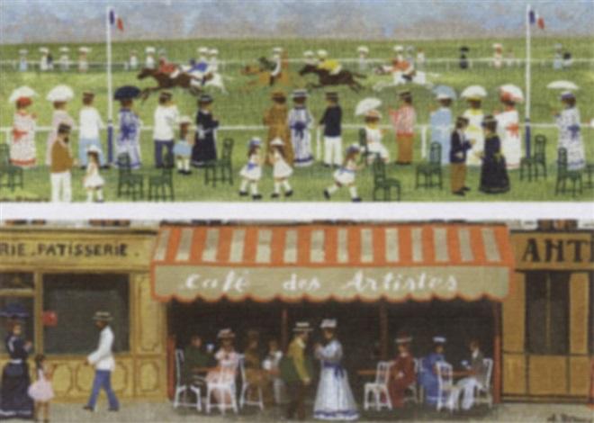 café des artistes by andré renoux