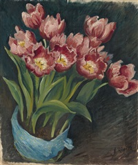 tulips by nikolai vladimirovich remizov