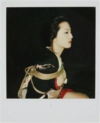 sans titre - (bondage. roses.) (2 works) by nobuyoshi araki