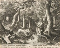 23 aus 25 kupferstichen nach marten de vos by jan the elder ii and raphael sadeler ii