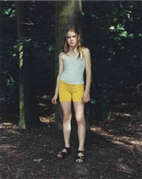 kora, tiergarten, berlin, germany, july 1, 2000 by rineke dijkstra