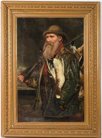 sportsman with a day's shoot by henry hetherington emmerson