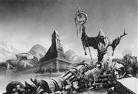 prophet of doom by chris achilleos