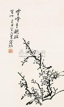 梅花 by huang binhong