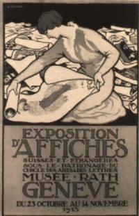 exposition d'affiches/ genève by jules-ami courvoisier