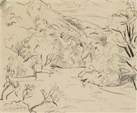 bei théziers by erich heckel