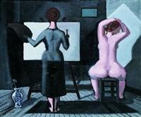 le peintre et son modèle by paul boudot