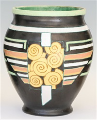 rare vase by georges renaud