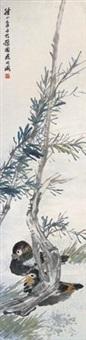 花鸟 by xu xiang