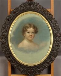 portrait d'enfant by francis alexander