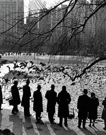 an american sunday central park nyc by andreas feininger