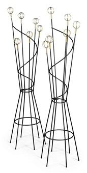 coat-racks (pair) by geo