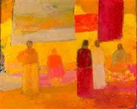 marche a manzanilla by bernard cathelin
