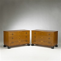 cabinets (pair) by bengt lindeqrantz