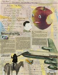untitled (sketchbook page 5) by marcel dzama