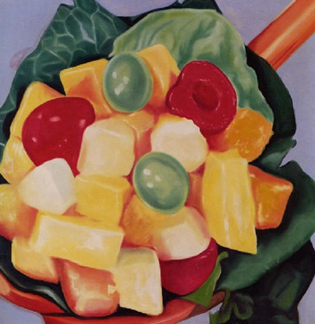 fruit salad by james rosenquist