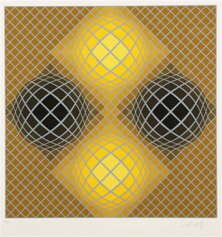 olla by victor vasarely