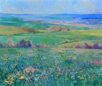 loire valley fields by helen rogak