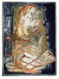 seelandschaft (+ o.t., lrgr; 2 works) by marcel fiorini