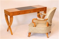 bureau et son fauteuil (set of 2) by leleu