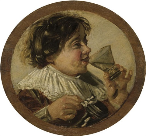 le buveur by frans hals the elder