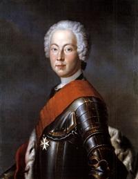 portrait des friedrich markgraf von brandenburg-bayreuth by georg lisiewski