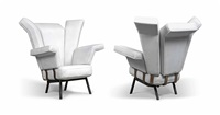 rare pair of lounge chairs by studio architetti b.b.p.r. (co.)
