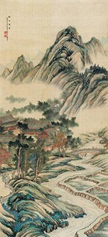 秋山萧寺 by bai zongwei