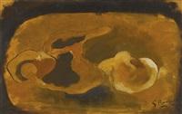 pomme et pichet by georges braque