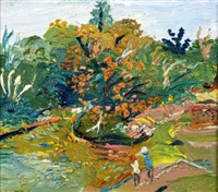 in the gardens by fred yates