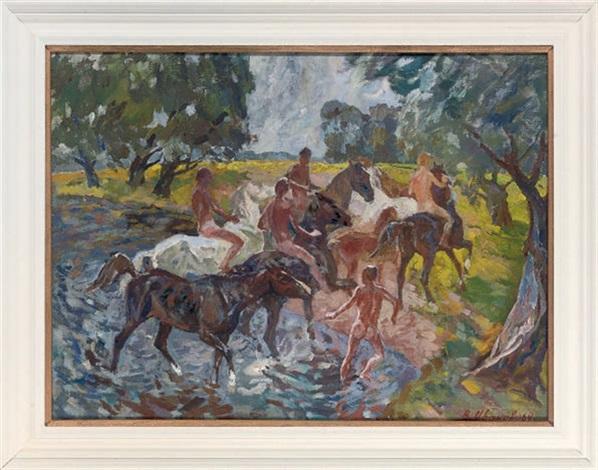 bareback in the river by viktor ivanov