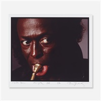 miles davis, new york city, july 1 by annie leibovitz