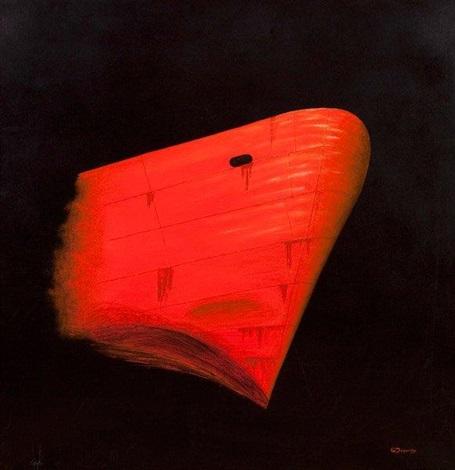 étrave rouge by gérard dugardin