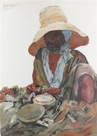 a libyan man by erich wolsfeld
