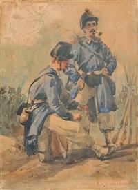 soldati by michele cammarano