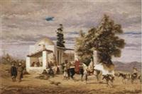 orientaliskt motiv by adolphe aze