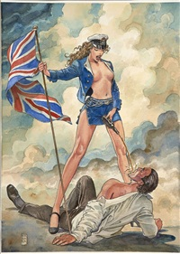 cool britania by milo manara
