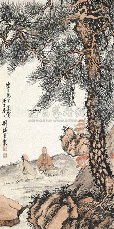 松下论道图 by liu haisu