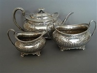 tea service (set of 3) by atkin brothers