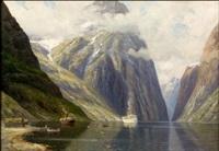 aluksia vuonossa by conrad hans selmyhr