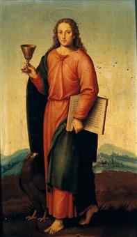 saint john the evangelist by vicente juan (de juanes) masip