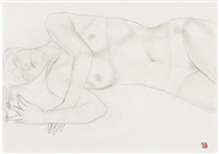 sketch of nude by sho ishimoto